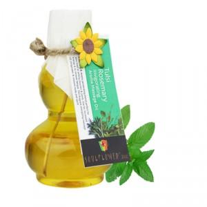 Buy Soulflower Rosemary Tulsi Invigorating Aroma Massage Oil - Nykaa
