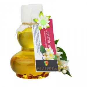 Buy Herbal Soulflower Jasmine Aroma Massage Oil - Nykaa