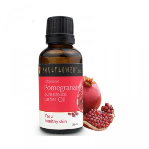 Buy Soulflower Pomegranate Carrier Oil - Coldpressed - Nykaa