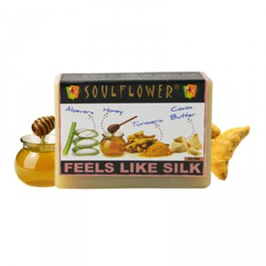 Buy Soulflower Feels Like Silk Soap - Nykaa