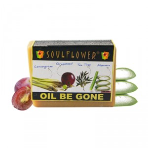 Buy Soulflower Oil Be Gone Soap - Nykaa