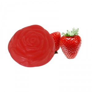 Buy Soulflower Strawberry Pure Glycerin 100% Veg Soap - Nykaa