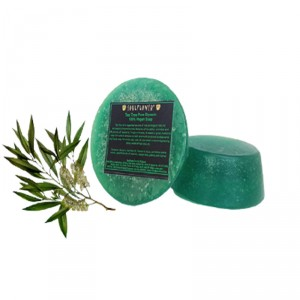 Buy Herbal Soulflower Tea Tree Pure Glycerin 100% Veg Soap - Nykaa