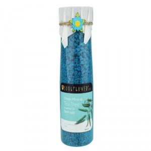 Buy Soulflower Aroma Bath Salt - Tea Tree - Nykaa