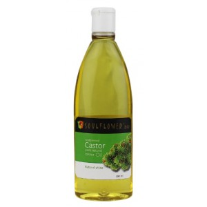Buy Soulflower Castor Carrier Oil - Coldpressed - Nykaa