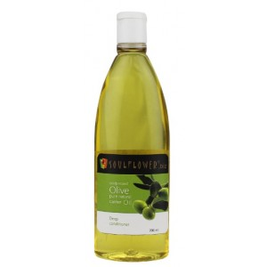 Buy Soulflower Olive Carrier Oil - Coldpressed - Nykaa