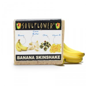 Buy Soulflower Banana Skinshake Soap - Nykaa