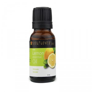 Buy Soulflower Lemon Essential Oil - Nykaa