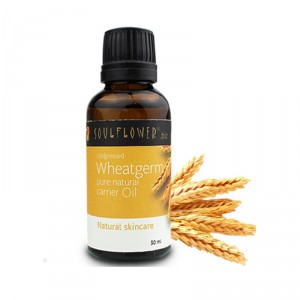 Buy Soulflower Wheatgerm Carrier Oil - Coldpressed - Nykaa