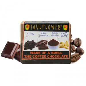 Buy Herbal Soulflower Wake Up & Smell The Coffee Chocolate Soap - Nykaa
