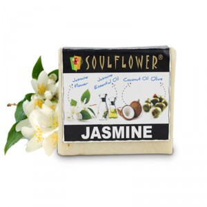Buy Soulflower Jasmine Soap - Nykaa