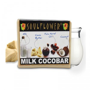 Buy Soulflower Milk Cocobar Soap - Nykaa