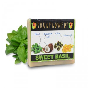 Buy Herbal Soulflower Sweet Basil Soap - Nykaa