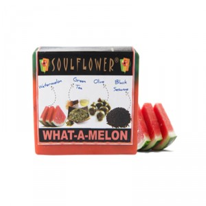 Buy Soulflower What A Melon Soap - Nykaa