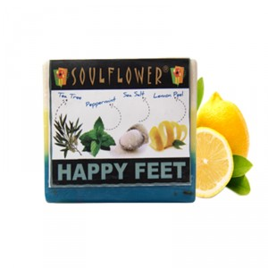 Buy Herbal Soulflower Happy Feet Soap - Nykaa