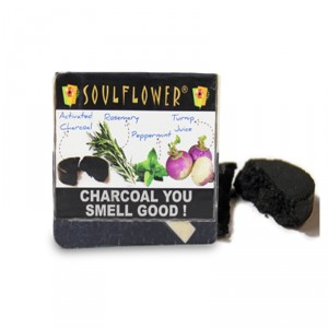 Buy Soulflower Charcoal You Smell Good Soap - Nykaa