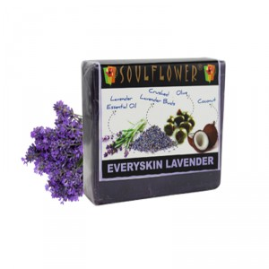 Buy Soulflower Everyskin Lavender Soap - Nykaa
