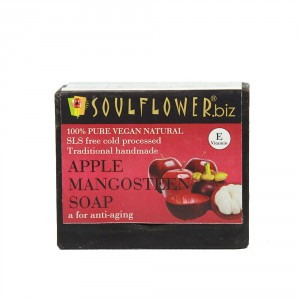 Buy Herbal Soulflower Apple Mangosteen A For Anti-Aging Soap - Nykaa