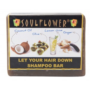 Buy Soulflower Let Your Hair Down Shampoo Bar - Nykaa