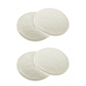 Buy Mee Mee Washable Cotton Maternity Nursing Pads - (2 Pcs) Cream - Nykaa