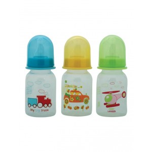 Buy Mee Mee Premium Feeding Bottle Set - (3 pcs) (Yellow-Blue-Green) - Nykaa