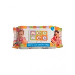 Buy Mee Mee Gentle Hand & Mouth Wipes - White - Nykaa