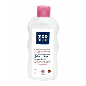 Buy Mee Mee Chamomile Baby Lotion - White - Nykaa