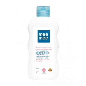 Buy Mee Mee Gentle Bubble Bath - White - Nykaa