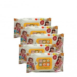 Buy Mee Mee Tissue Paper White Lemon Fragrance - (30 pcs) (Pack of 5) - Nykaa