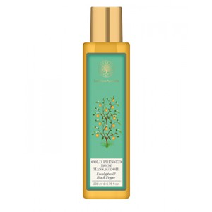Buy Forest Essentials Cold Pressed Body Massage Oil - Eucalyptus & Black Pepper - Nykaa