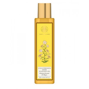 Buy Forest Essentials Cold Pressed Body Massage Oil - Madurai Jasmine & Mogra - Nykaa