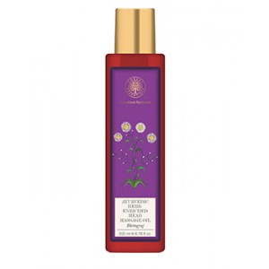 Buy Forest Essentials Ayurvedic Herb Enriched Head Massage Oil Bhringraj - Nykaa