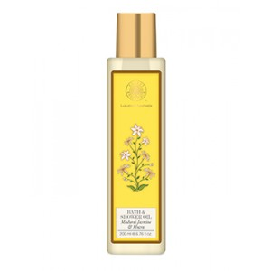Buy Forest Essentials Moisture Replenishing Bath & Shower Oil - Madurai Jasmine & Mogra - Nykaa