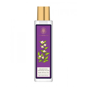 Buy Forest Essentials Silkening Shower Wash Oudh & Green Tea - Nykaa