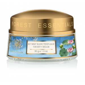 Buy Forest Essentials Kumkumadi Teenage Night Cream - Nykaa