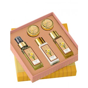 Buy Forest Essentials Perfumed Bath Ritual Gift Box - Nykaa