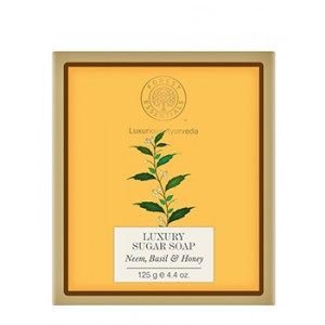 Buy Forest Essentials Luxury Sugar Soap Neem Basil & Honey - Nykaa