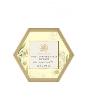 Buy Herbal Forest Essentials Luscious Lip Balm - Kokum Butter & Honey - Nykaa