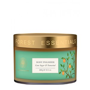 Buy Forest Essentials Body Polisher Cane Sugar & Tamarind - Nykaa