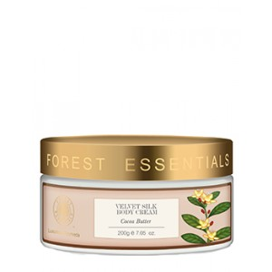 Buy Forest Essentials Velvet Silk Body Cream Cocoa Butter - Nykaa
