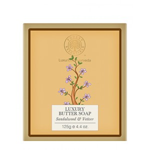 Buy Herbal Forest Essentials Luxury Butter Soap Sandalwood & Vetiver - Nykaa