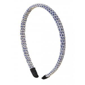 Buy Toniq  Blue Shimmery Hair Band - Nykaa