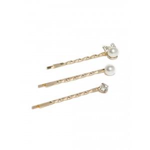 Buy Toniq Wedding Girl Pearls Bobby Pin Set - Nykaa