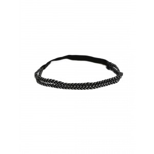 Buy Toniq Black Lace Hair Band - Nykaa