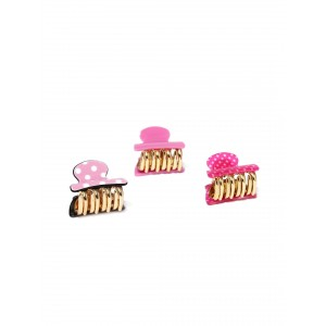 Buy Toniq Pink Monalisa Hair Clips - Nykaa