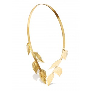 Buy Toniq Golden Rose Gold Reversible Hair Band - Nykaa
