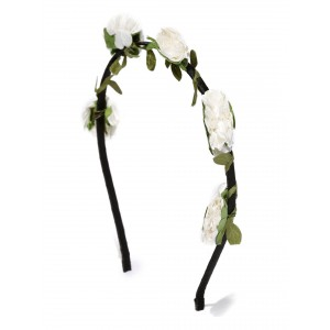 Buy Toniq Bohemia White Flower Hair Band  - Nykaa