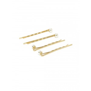 Buy Toniq Pearl Wave Bobby Pin Set - Nykaa
