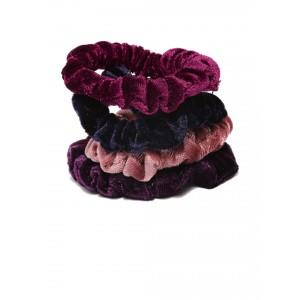 Buy Toniq Velvet Scrunchies Set - Nykaa