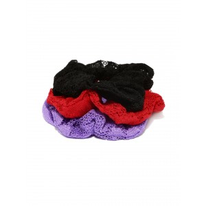 Buy Toniq Mondaine Lace Scrunchies - Nykaa